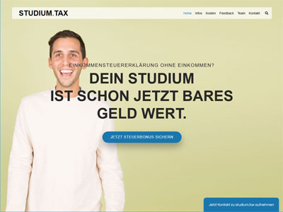 studium.tax desktop responsive